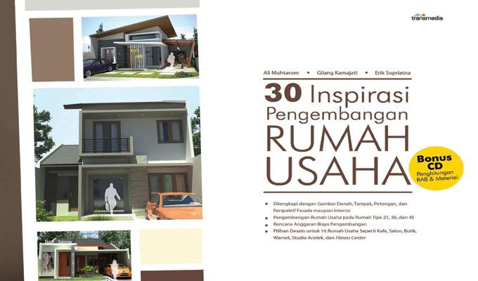 30 Inspirasi Pengembangan Rumah Usaha Transmedia Pustaka Desain Bertingkat