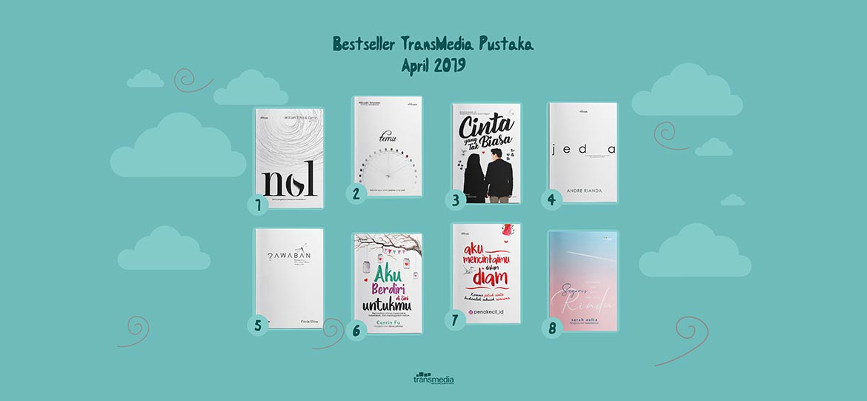 buku bestseller transmedia bulan april